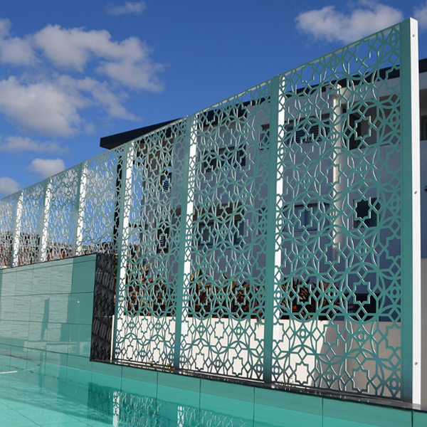 Beautiful Pattern Outdoor Anti Rusting Metal Screen