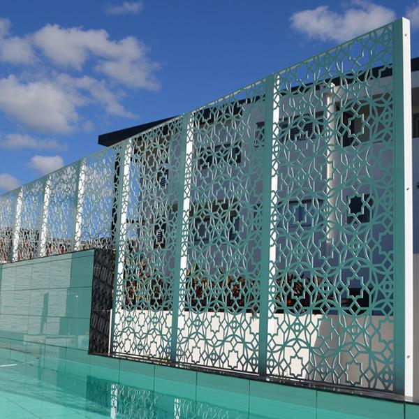 Beautiful Pattern Outdoor Anti Rusting Metal Screen