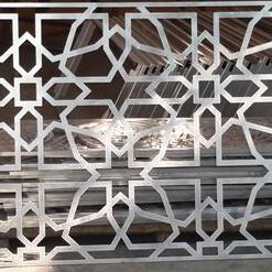 Aluminum Laser Cut Garden Fence