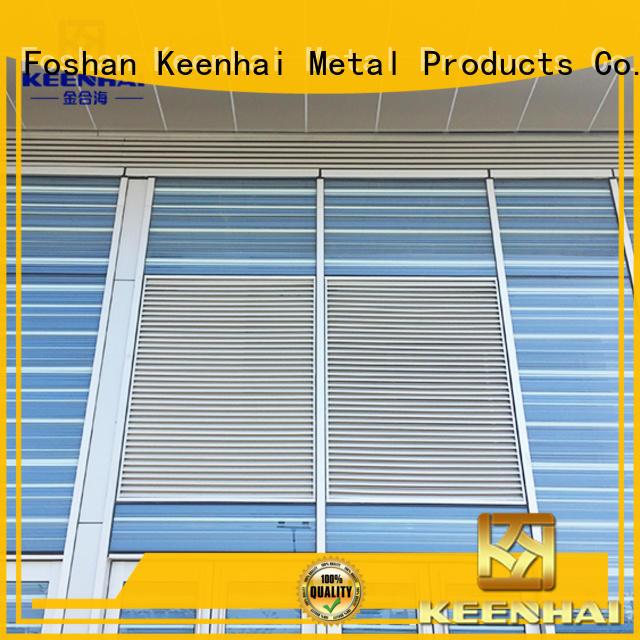 elegant design ventilation louvres metal supplier for decoration