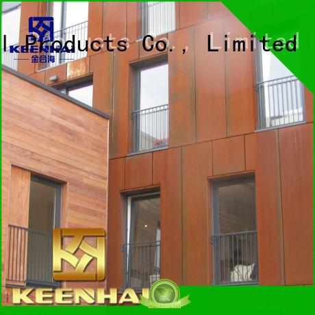 Keenhai exquisite corten siding supplier for interior decoration