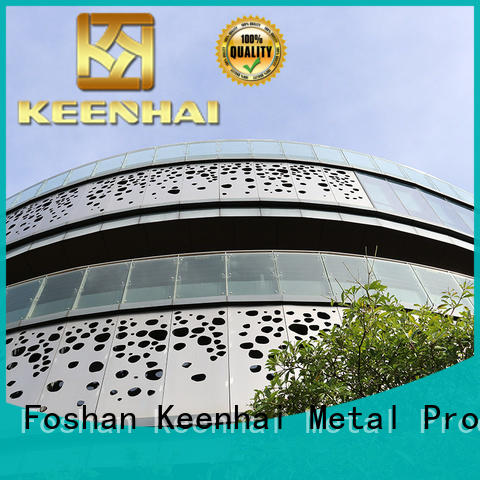 Keenhai excellent decorative metal screen panels from China for construction projects