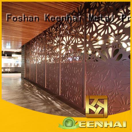 stainless steel mesh screen black for garden Keenhai