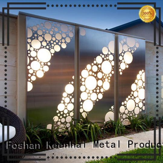 Keenhai standard metal garden screens trader for KTV
