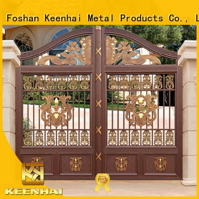 metal driveway gates for sale aluminum for decoration Keenhai