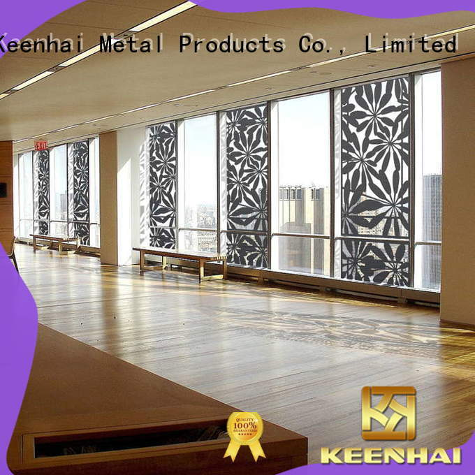 Keenhai golden mesh screen renovation solutions for garden
