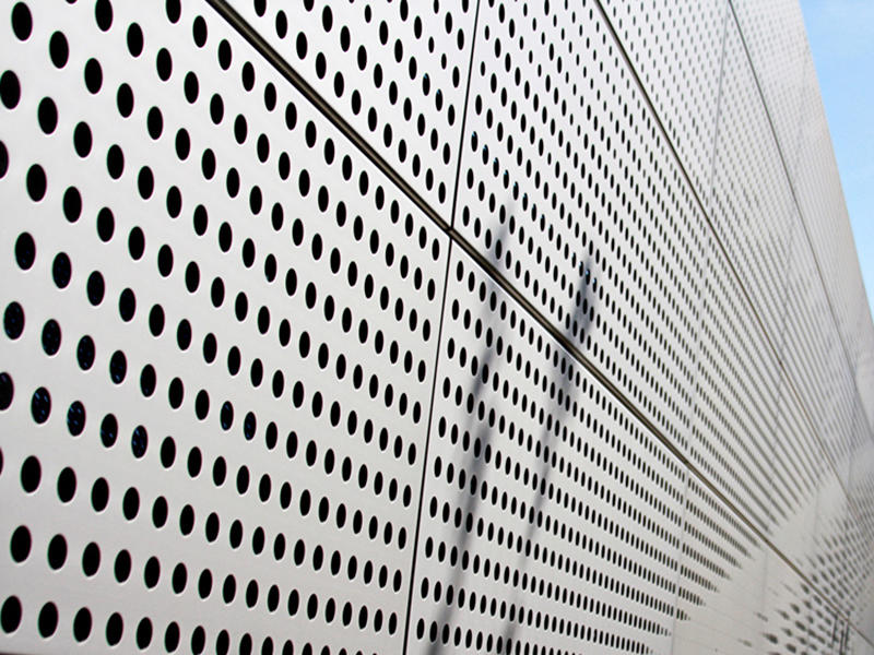 Aluminum panel Perforated
