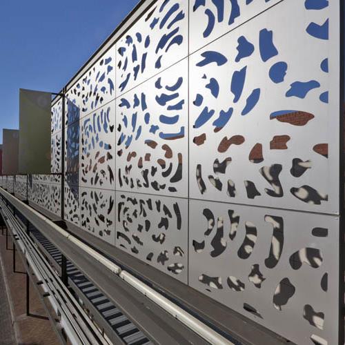 Exterior Porch Decorative Wall Architecture Metal Screen