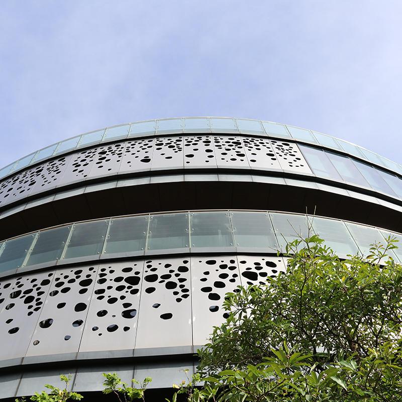 Building facade materials Aluminum Perforated panel