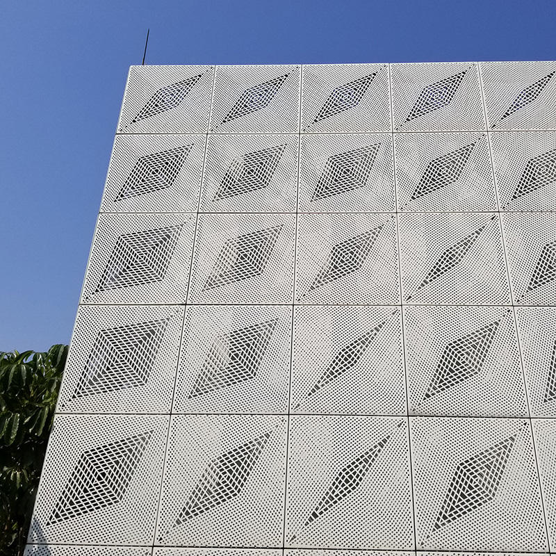 Outdoor Powder Coated Laser Cut  Metal Wall Panel