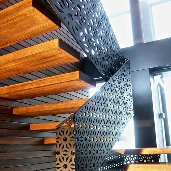 Interior Aluminum Screen Metal For Balustrade Handrail