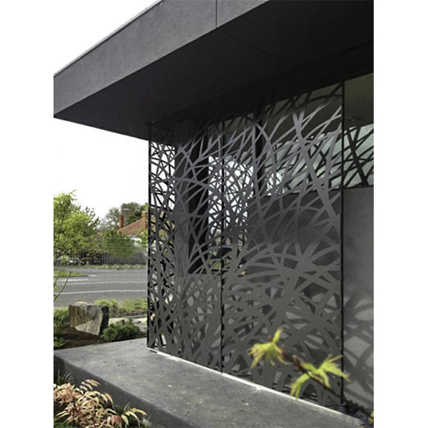 Outdoor Aluminum Partition Wall Decoration Hollow Out Metal Screen