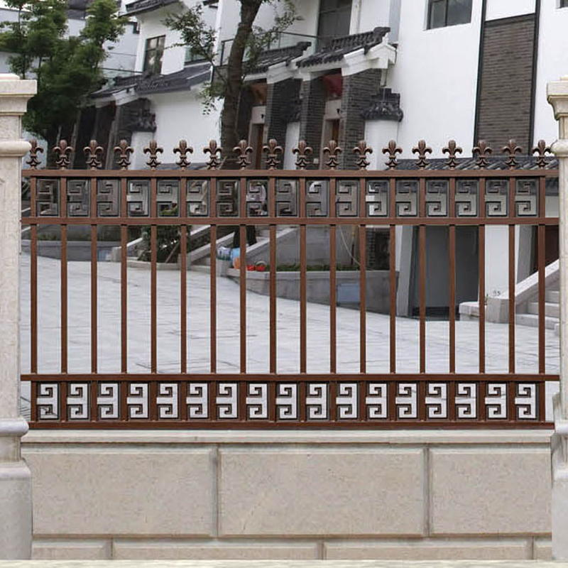 Courtyard Aluminum Fence For Garden