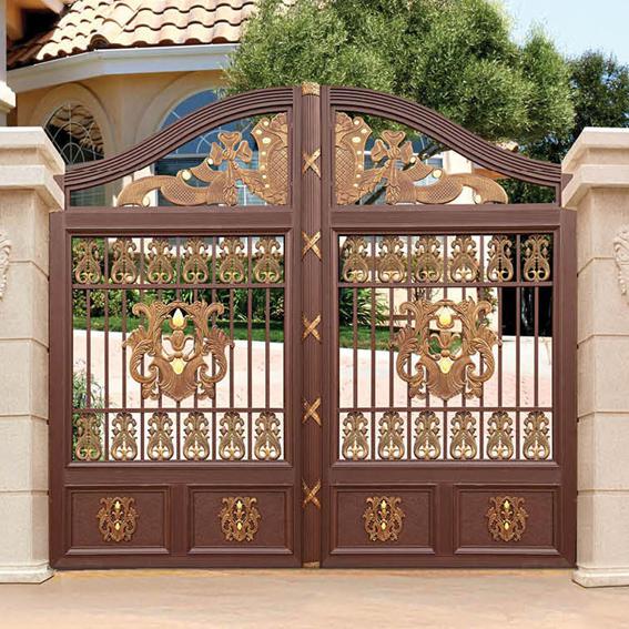 Villa Garden Gate Customized Courtyard Aluminum Gate