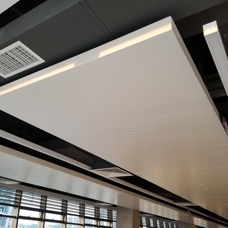 Interior Aluminum Baffle metal ceiling Panel