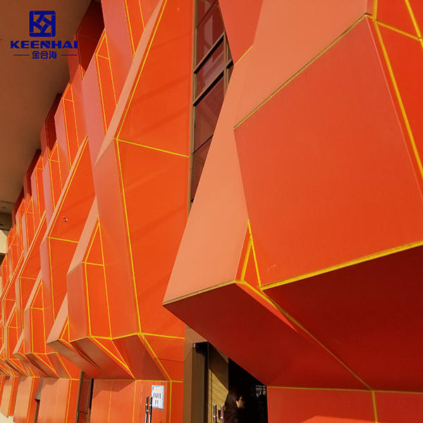 Hollow Out 3D Wall Decorative Facade Panel