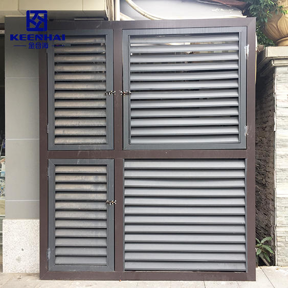 Ventilating Metal Louver
