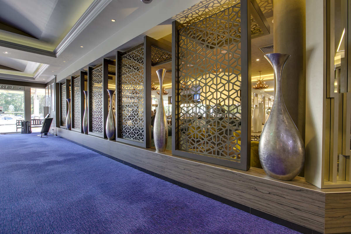 Metal Partition Wall For Hotel With Stainless Steel