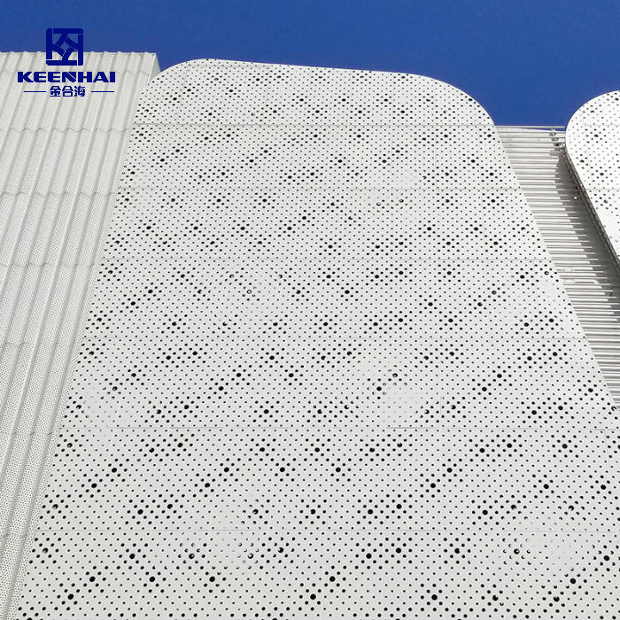 Perforated Facade Wall Cladding Panel Design
