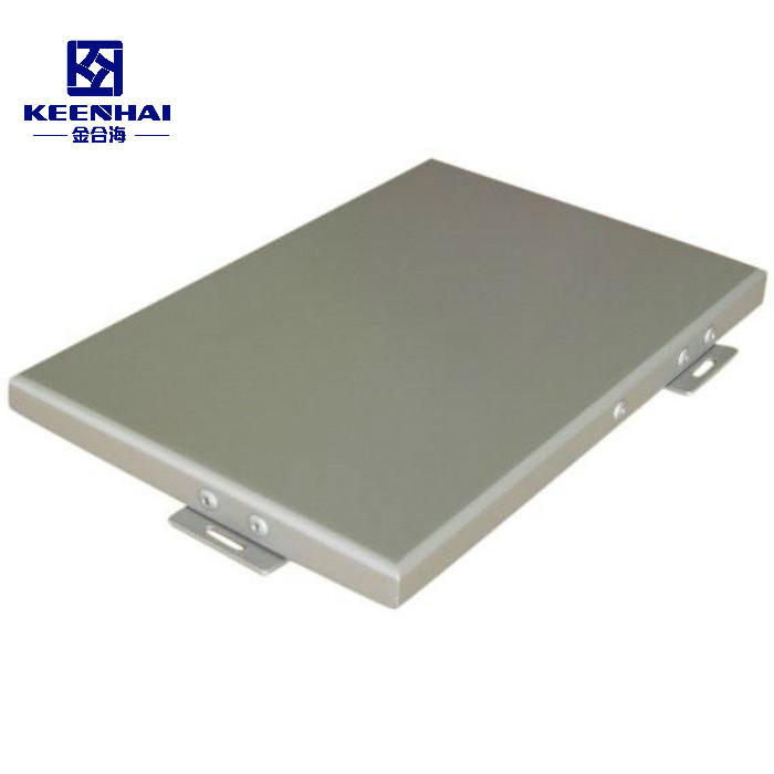 PVDF Powder Coating Solid Aluminum Facade Wall Panel