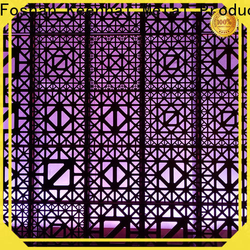Keenhai curtain decorative metal screen panels order now for decoration