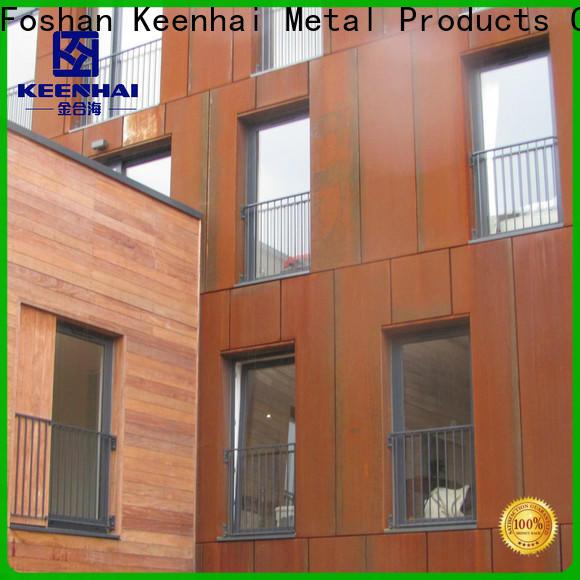 Keenhai corten corten steel panels from China for decoration