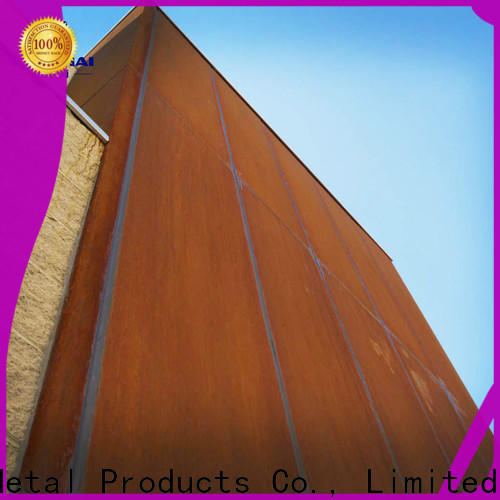 delicate corten cladding wall from China for indoor decoration
