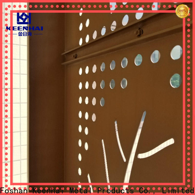 Keenhai wall outdoor Metal Screen trader for room