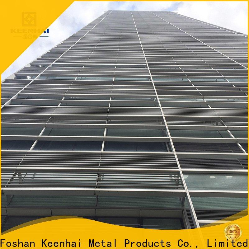 Keenhai siding outdoor wall decor metal supplier for parks