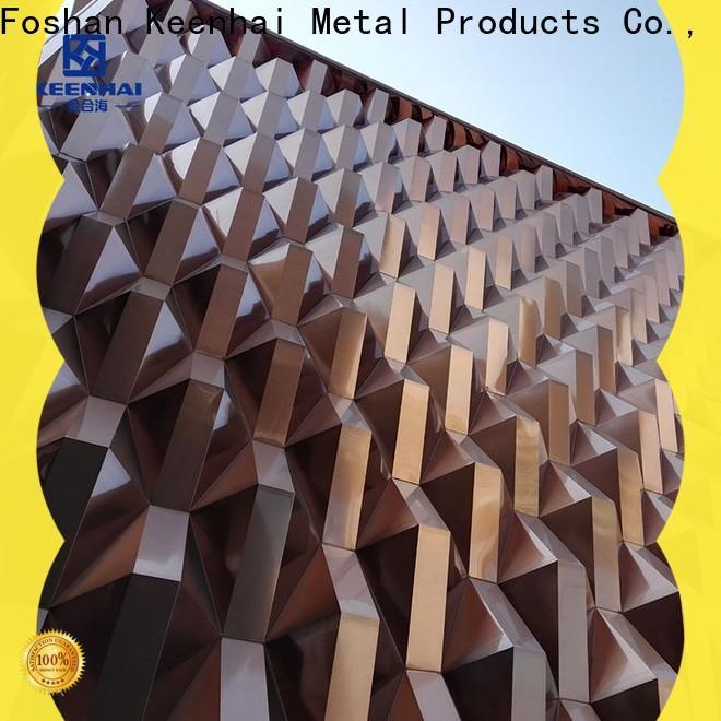 cheap 3d panel facade manufacturer for decoration
