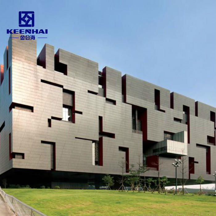 Architectural Aluminum Wall Panel Solid Panel Cladding Facade