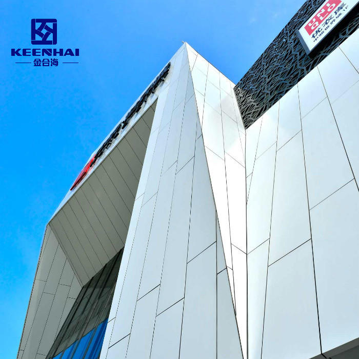 Manufacture Solid Aluminium Cladding Curtain Wall