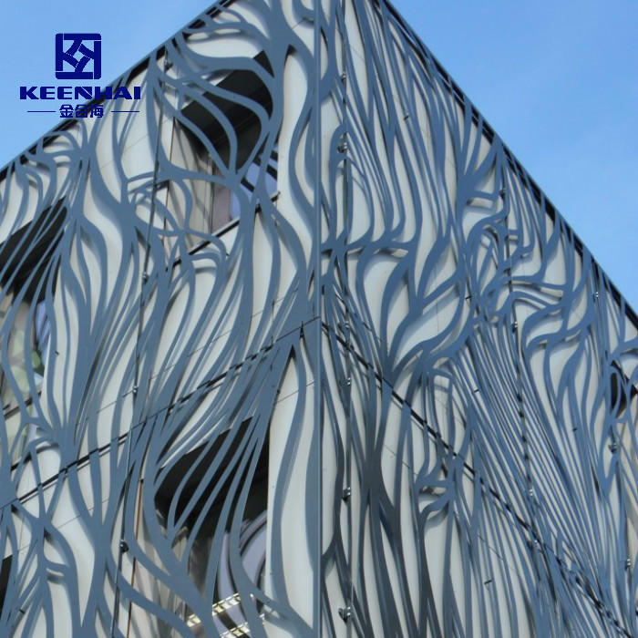 Aluminum Laser Cut Facade Of High Strength