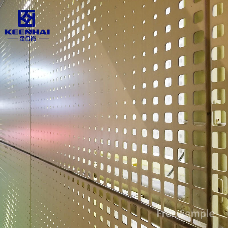 Raw Material Perforated Cladding Panel For The Production