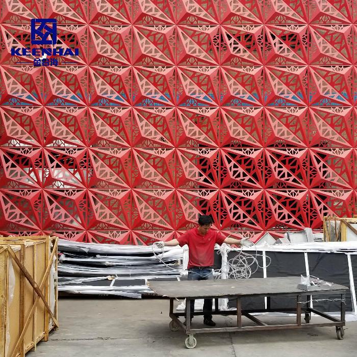 Building Facade Aluminum Composite Panel Partition Wall Panel
