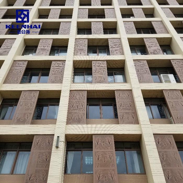 Unitized Curtain Wall Aluminum Ventilated Facade System