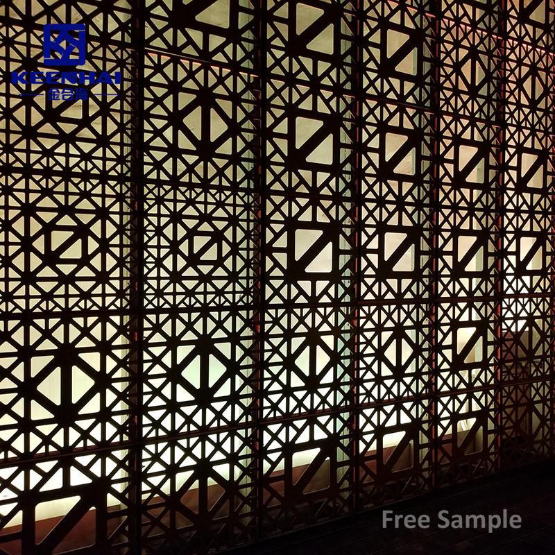 Aluminium Perforated Facade Panels  Curtain Wall Meal Decorative Mesh