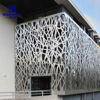 New Facade Building Material Aluminium Curtain Wall Installation