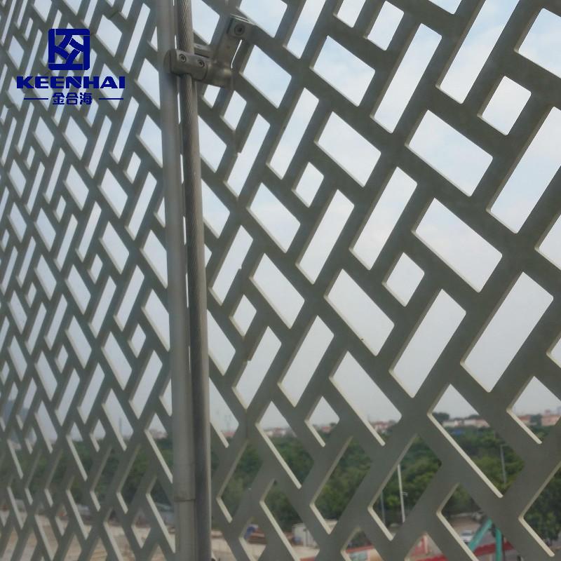Customized Decorative Cladding Aluminium Perforated Facade Metal Wall Panel