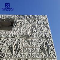 Fashionable Metal Laser Cut Facade Panels