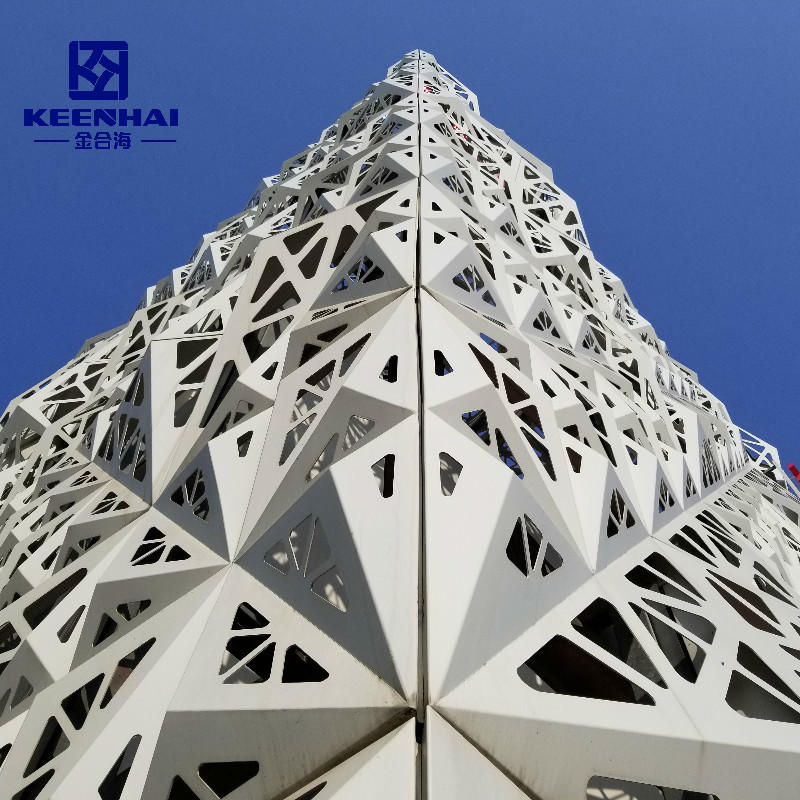 Fashionable Metal Laser Cut Facade Panels