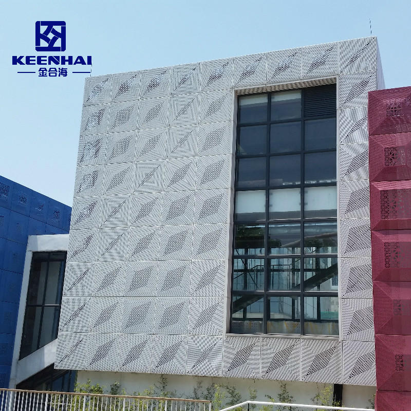 Modern Architecture Facade Building Material