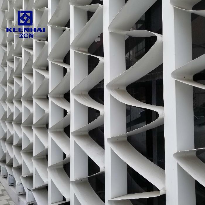 Building Facades Wall Cladding Modular Wall Panel System