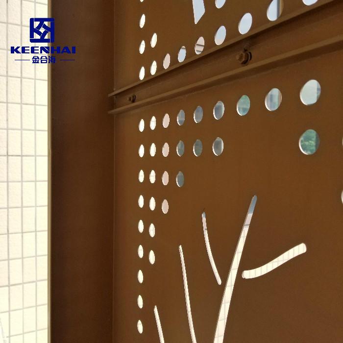 High quality Decroative Laser Cut Facade Panel
