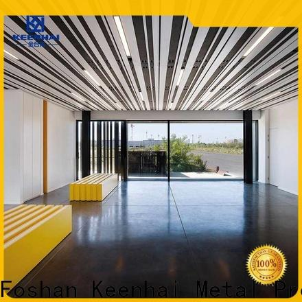 Keenhai metal ceiling sheets strip order now for decoration