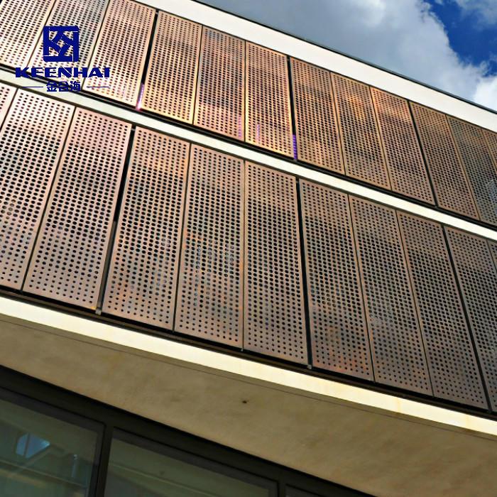 City Place Building Aluminium Facade Panel Curtain Wall Material