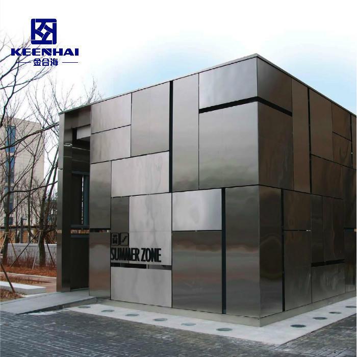 Solid Aluminum Panel Exterior Decorative Metal Facade