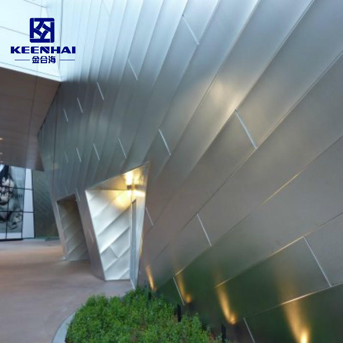 High Quality Metal Aluminum Solid Panel Aluminum Flat Panel For Facade