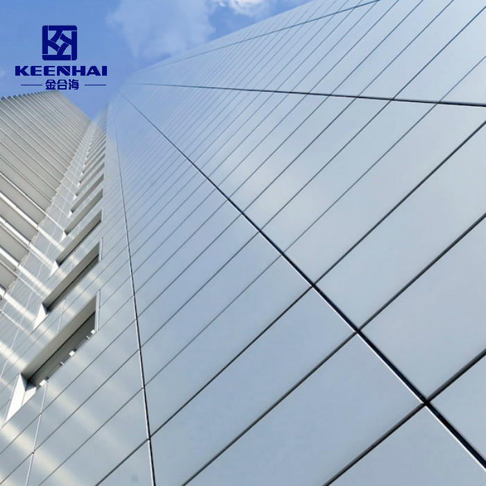 Aluminum Solid Facade Panel For Exterior Factory Price