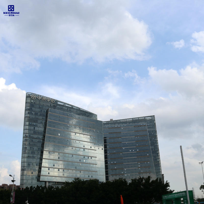 Insulated Solid Aluminum Panels Cladding Panel Installation